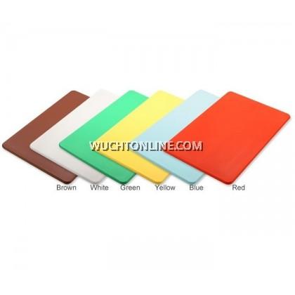 """PE Color Cutting Board 14"""" x 10"""" - Green"""